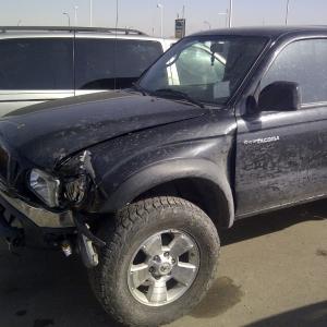 Taco accident