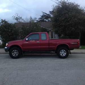 1998 limited tacoma 4x4 SR5 TRD off road package with supercharger!! For sa