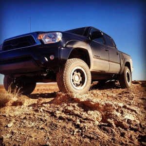 Put on my 3in lift