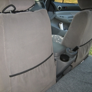 GT seat covers rear