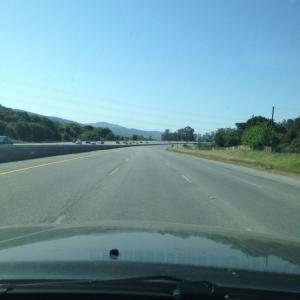 My drive up 280 at 4:22pm!!! Cha Ching!!!!