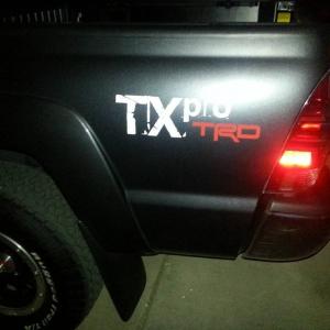 New 2012 TX Pro TRD