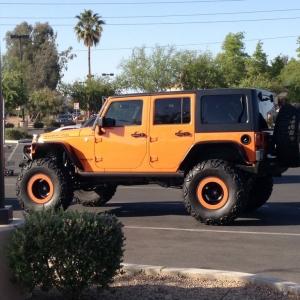 Sweeeeet. For a Jeep.
