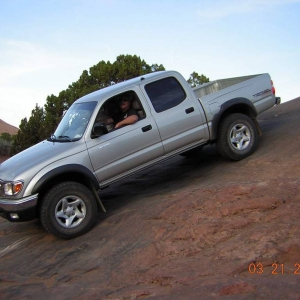 2002 Double Cab 4x4 at Moab