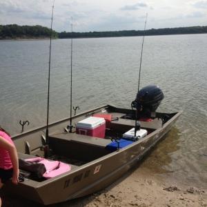 Hopefully a nice afternoon of catfishing!