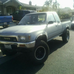 How much is a truck like this worth? 4x4 auto v6 1990 146k miles.. I put my