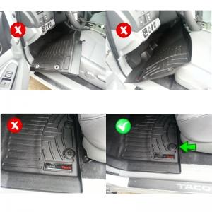 WeatherTech Correct Installation
