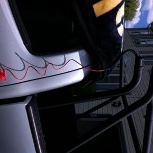 body armor sports rack lighting