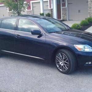 New ride, Lexus GS 350