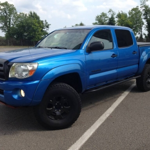 2005 Speedway Blue Double Cab Short Bed