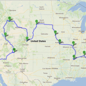 My Roadtrip Plan