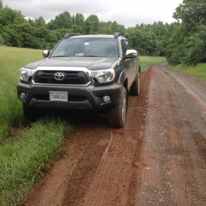 Little bit of Mud Drivin