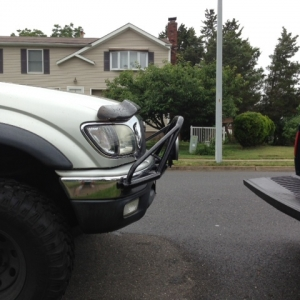 Nfab prerunner light bar w/pro comp driving lights