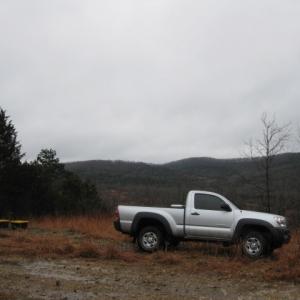 ozark truck camping
