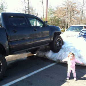 Winter Parking at Day Care
