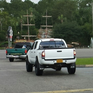 Gulf Shores Alabama spotted. Saturday July 20. Nice truck. Told the gf, &#0