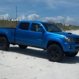 My truck in ST Augustine