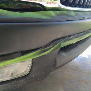 plasti dip front bumper..