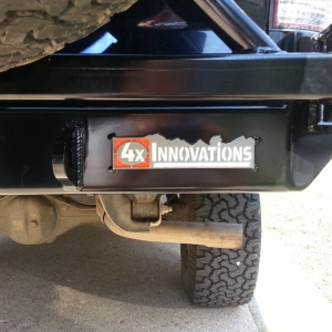 ATO rear bumper swingout and logo