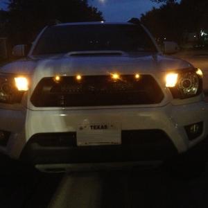 Raptor style lights