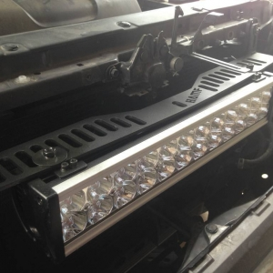 Mounted light bar