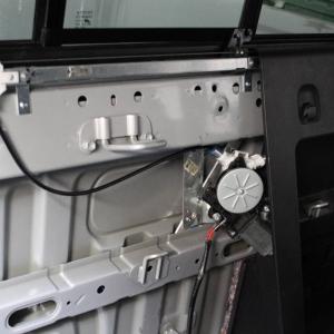 Power rear slider