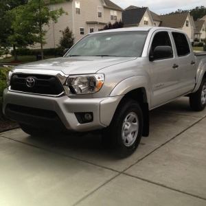 silver 2013 tacoma DCSB