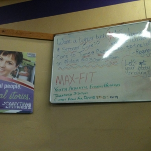 Sign at my gym...the lady that puts that class together is....different