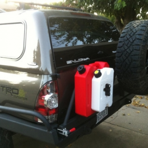 Brute Force Fab rear HC bumper and swing out