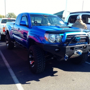 Some of the MANY Bad Ass rigs at Steven Toyota Meet!