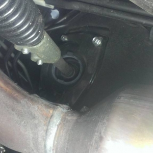Bottom intermediate steering shaft