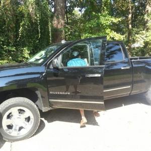 Buddy got him a new truck
