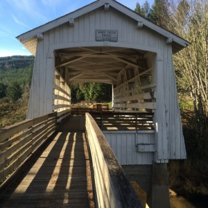 Sandy Creek Bridge. Coos County, Oregon.