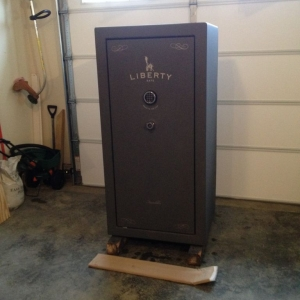 Just got my Liberty Franklin-25 Safe from Lowes today! Now to move it to my