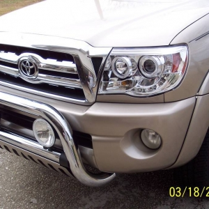 Projector Lights I Installed On My 2005 Tacoma PreRunner