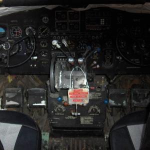 DC-3 Cockpit... Old School