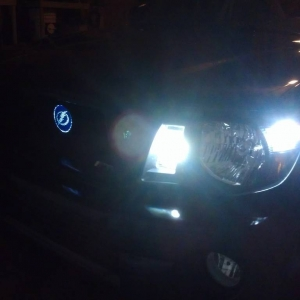 LED DTRL Switchbacks & Parking light mod