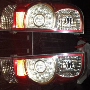 Taillights Housing Pair