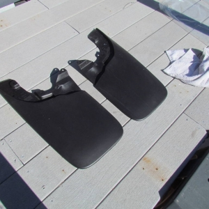Rear of mud guards