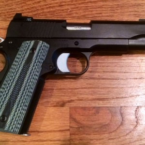 Picked up my first 1911. Dan Wesson V-Bob.
