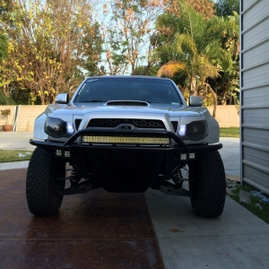 Had sick nick add my 4 rigid pods on my bumper...