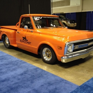 Some stuff from the hot rod & restoration trade show in Indy yesterday