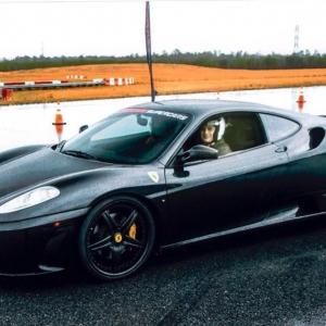 Got to drive an F430 around the North Carolina Automotive Research Park. :)