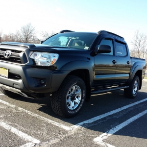 2012 double cab 6 speed TRD sport suspention back to stock