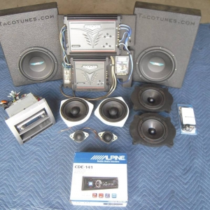 Complete Tacoma Double Cab Stereo System