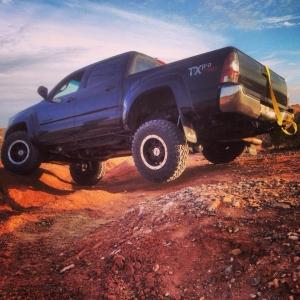 Flexing, MTs , tacoma, mud, 2012, Txpro