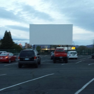 Drive in movie with the girl tonight.