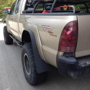 Fender mud flaps