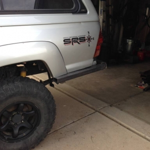 High Clearance Rear Bumper