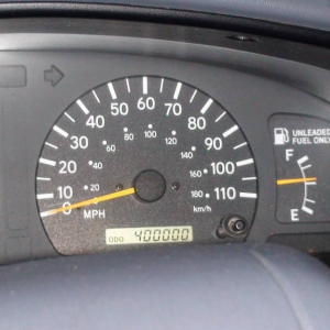 My mileage pics for my 2000 Toyota Tacoma TRD